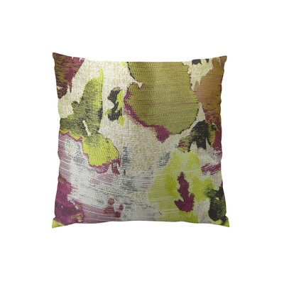 Tudor Berry Crush Handmade Throw Pillow Size: 18 H x 18 W