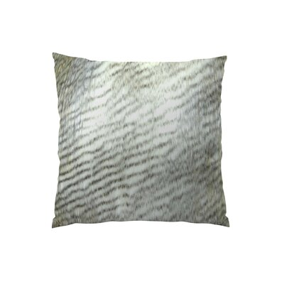 Alaskan Hawk Handmade Throw Pillow  Size: 16 H x 16 W