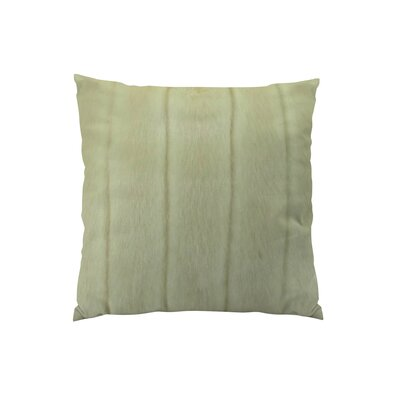 Fossen Mink Handmade Throw Pillow Size: 16 H x 16 W