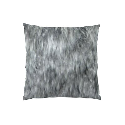 Wolf Handmade Throw Pillow Size: 18 H x 18 W