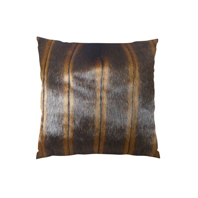 Fancy Mink Handmade Throw Pillow Size: 12