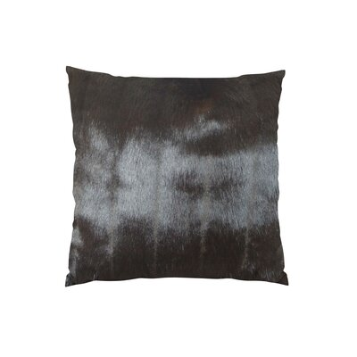 Tip Dyed Mink Handmade Throw Pillow  Size: 18