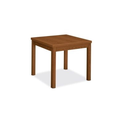 Occasional Tables Laminate Corner End Table Color: Medium Oak