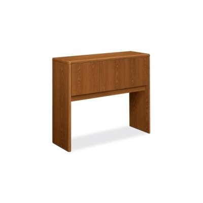 10700 Series 37.125 H x 44.625 W Desk Hutch Finish: Medium Oak