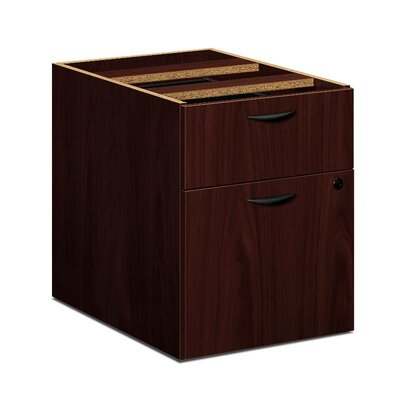 BL Series 19.25 H x 15.63 W Desk File Pedestal Finish: Mahogany