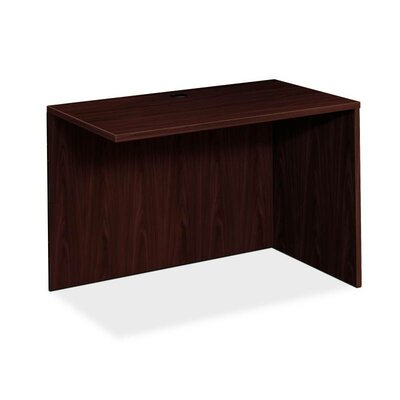 BL Series 29 H x 42.25 W Right Desk Return Finish: Mahogany