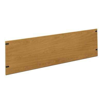 10500 Series 18.5 H Desk Privacy Panel Size: 72 W, Finish: Medium Oak