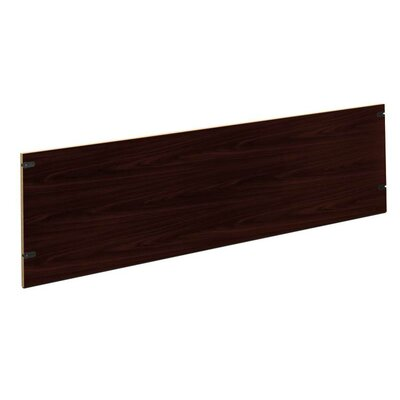10500 Series 18.5 H Desk Privacy Panel Size: 72 W, Finish: Mahogany