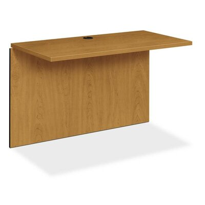 10500 Series 29.5 H x 47 W Desk Bridge Finish: Harvest