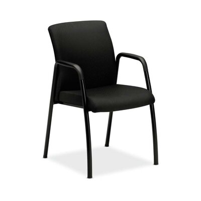 Park Avenue Series Guest Chair Fabric: Black