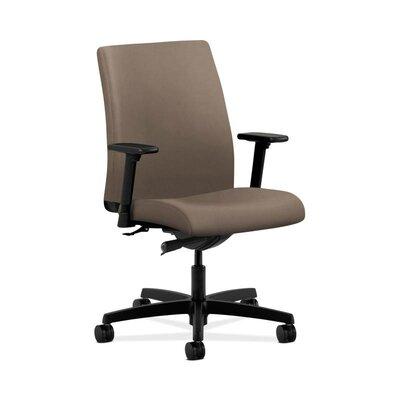 Ignition Low-back Chair in Grade IV Whisper Vinyl Upholstery: Antelope, Seat Mechanism: Synchro Tilt, Back Angle, Seat Glide