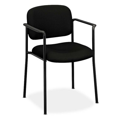 Multi-Purpose Guest Chair Seat Color: Black