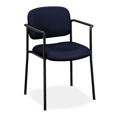 Multi-Purpose Guest Chair Seat Color: Navy