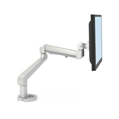 Single Monitor Height Adjustable Ergonomic Work Tool