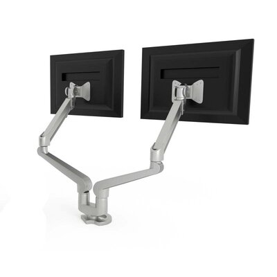 Dual Monitor Height Adjustable 2 Screen Ergonomic Work Tool