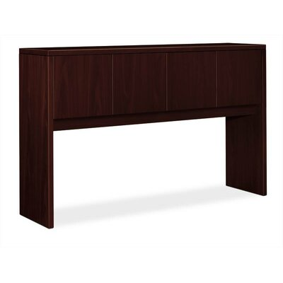 10500 Series 37.125 H x 59.9375 W Desk Hutch Finish: Mahogany