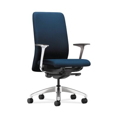 Nucleus Task Chair with Arms Color: Marine Tectonic Product Photo 1719