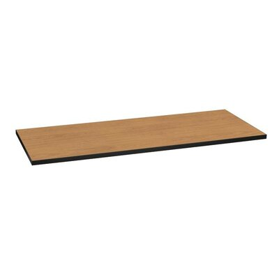 Huddle Rectangle Table Top Color: Harvest/Black