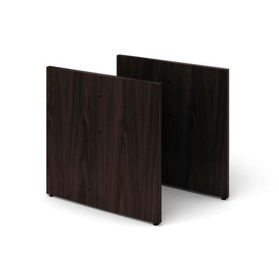 Preside Laminate Conference Table Base Color: Mahogany