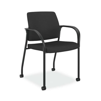Ignition Guest Chair Upholstery: Black