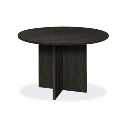 4' Circular Conference Table Color: Espresso