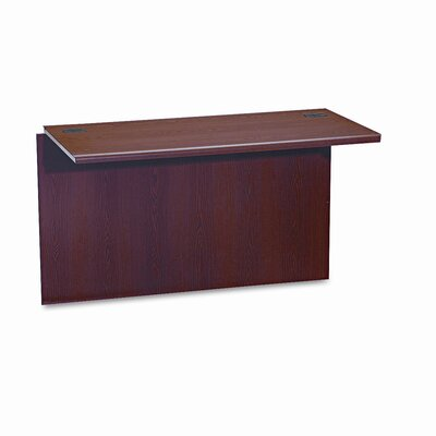 10700 Series 29.88 H x 47 W Desk Bridge Finish: Henna Cherry