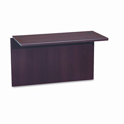 10700 Series 29.88 H x 47 W Desk Bridge Finish: Mahogany