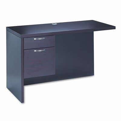 11500 Series 29.5 H x 48 W Left Desk Return Finish: Mahogany