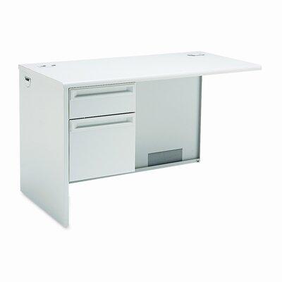38000 Series 29.5 H x 48 W Left Desk Return Finish: Light Gray