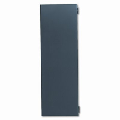 38000 Series 16 H x 48 W Desk Door Finish: Mahogany/Charcoal