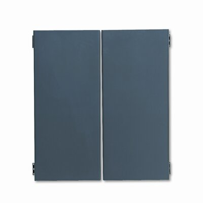 38000 Series 16 H x 72 W Desk Door Finish: Charcoal