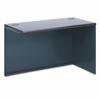 38000 Series29.5 H x 48 W Right Desk Return Finish: Mahogany & Charcoal