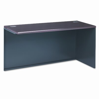 38000 Series 29.5 H x 60 W Right Desk Return Finish: Mahogany & Charcoal