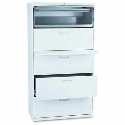 500 Series 5-Drawer Mobile File Finish: Light Gray Product Image 109