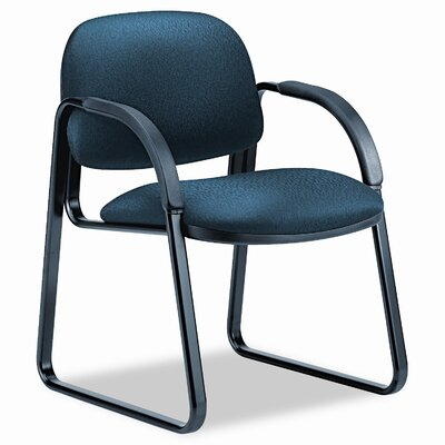 Sensible Guest Chair Finish: Mariner, Seat Color: Mariner
