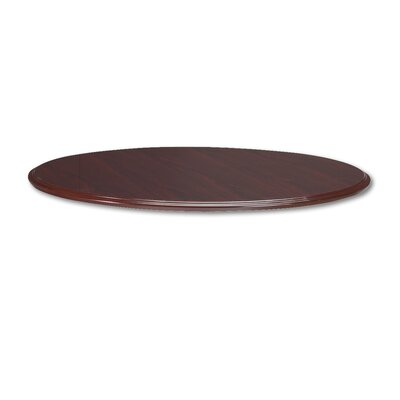 94000 Series Round Table Top, 48 Diameter, Mahogany