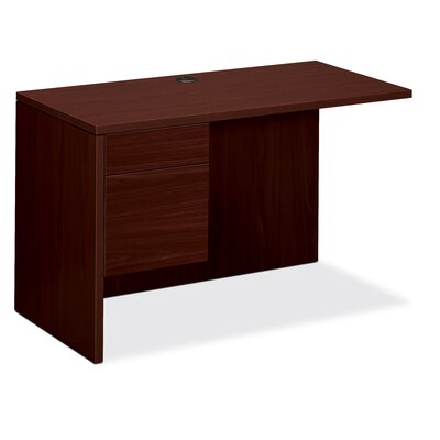 10500 Series 29.5 H x 48 W Left Desk Return Finish: Mahogany