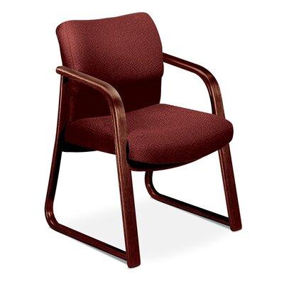 2900 Series Guest Chair Fabric: Burgundy