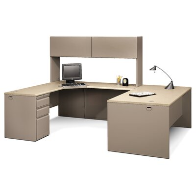 """Buy Low Price HON 38000 Series 36"""" Deep Computer Desk Shell Finish"""