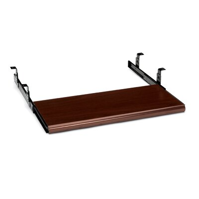 10700 Series 3 H x 23.5 W Desk Keyboard Tray Finish: Mahogany