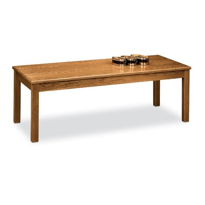 Laminate Occasional Coffee Table Color: Medium Oak