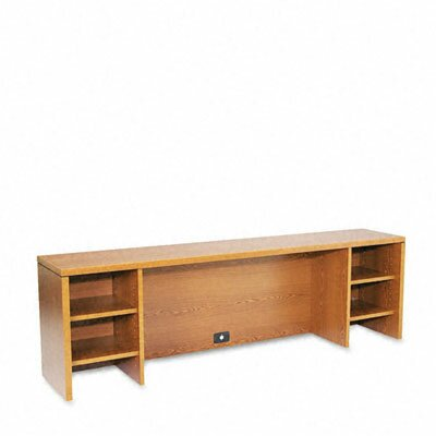 10500 Series 22 H x 72 W Desk Hutch Finish: Medium Oak