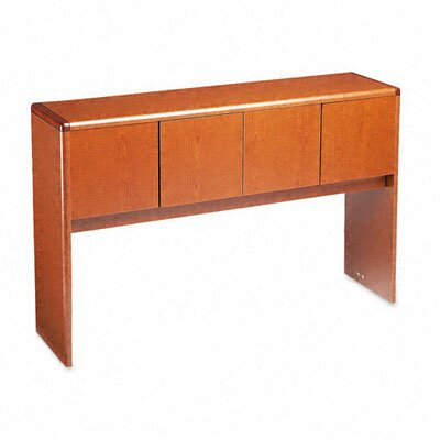 10700 Series 37.13 H x 56.63 W Desk Hutch Finish: Henna Cherry