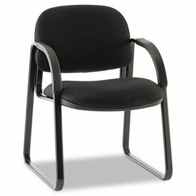 Sensible Guest Chair Seat Color: Black, Finish: Black