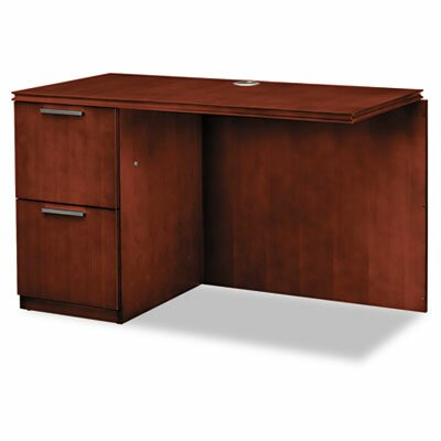 Arrive 29.5 H x 48 W Left Desk Return Finish: Henna Cherry