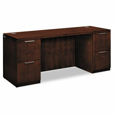 Arrive Executive Desk Finish: Henna Cherry Product Picture 387