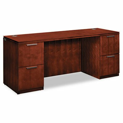 Arrive Executive Desk Finish: Shaker Cherry Product Picture 387