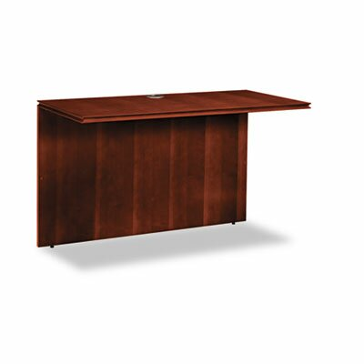 Arrive 29.06 H x 48 W Desk Bridge Finish: Henna Cherry