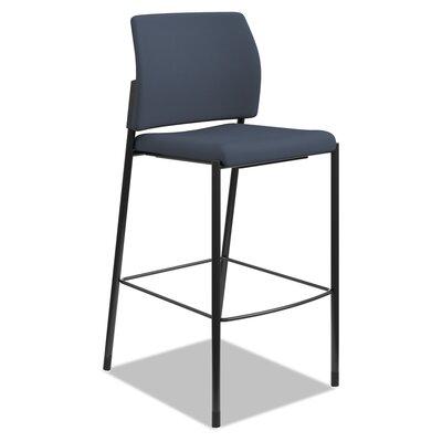 30 inch Bar Stool Upholstery: Cerulean