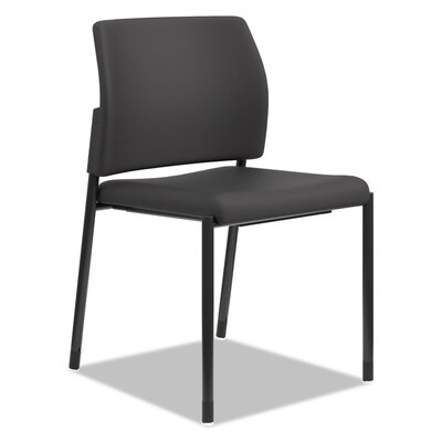 Armless Guest Chair Seat Color: Black